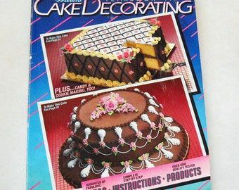 Vintage Cook Book Wilton Cake Decorating YearBook 1985