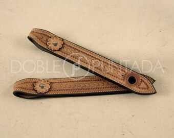 Slobber strap, for riding western