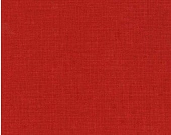 FREE Shipping (orders 35+ dollars) Robert Kaufman Quilter's Linen (Crimson); 100% Cotton; Fat Quarter or By the Yard: ETJ-9864-91