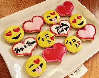 Emoji's Valentine's day