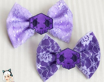 Sombra Overwatch Bow *Choose Lilac or Purple*