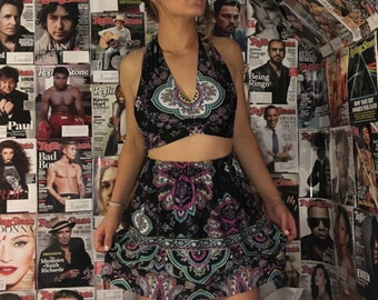 Paisly two piece