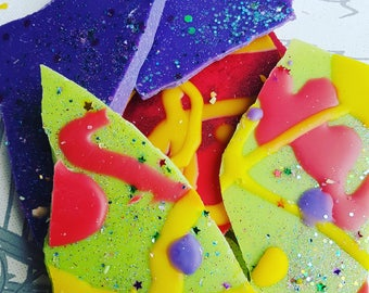 Taste the Rainbow Skittles Brittle