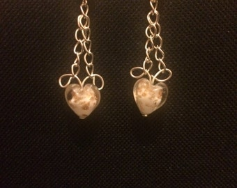 Unique Heart earrings