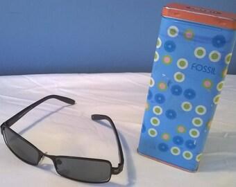 Vintage Fossil Sunglasses with original box