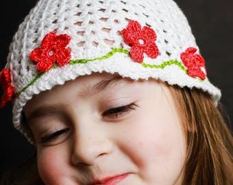 Girl's Hat: The Brittany