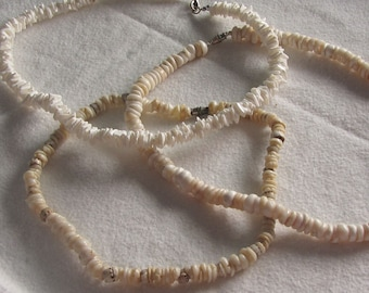 Set of 3 Puka Shell Necklaces
