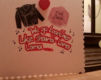 Grease Anniversary/Wedding Card