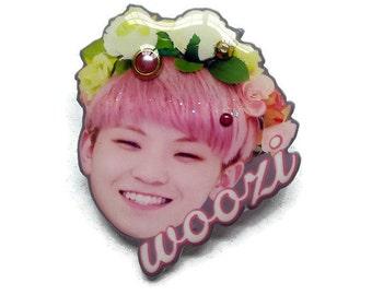 Seventeen's Woozi Pin