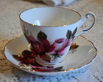 "English Bone China ""Regency"" Cup and Saucer"