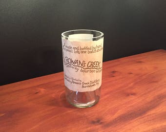 HANDCRAFTED Up-Cycled 750ML Rowan's Creek Bourbon Whiskey BOTTLE Soy Candle Made To Order !!