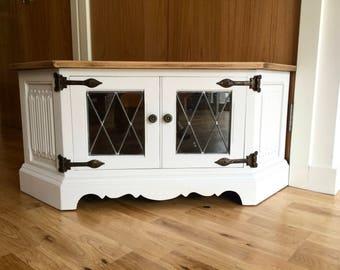 Upcycled Corner Cabinet Unit