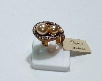 Rolled gold vintage ring