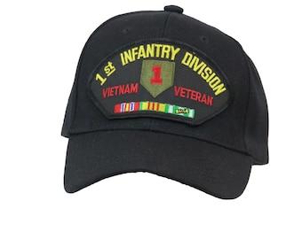 1st Infantry Division Vietnam Veteran Cap