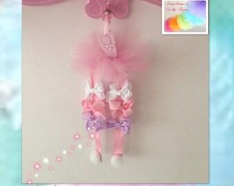 Bow Holder | Hanging Bow Holder | Clasp Holder | Ribbon Holder | Ballerina | Ballet | Dance
