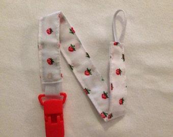 Strawberry Cotton Dummy Clip