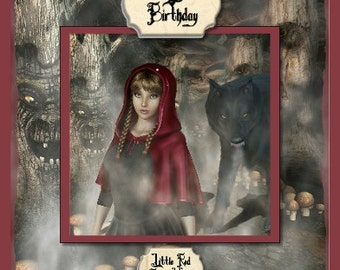 Gothic Fairy Tale Collection - Little Red Riding Hood
