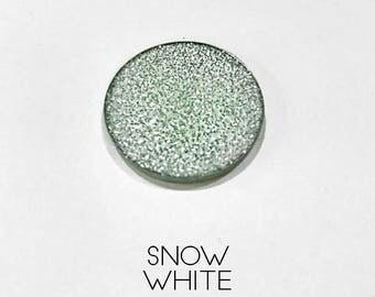 Pressed Glitter Eyeshadow - 'Snow White'