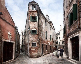 Venice Backstreets , Venice photography, Venice art print, Venice, Italy
