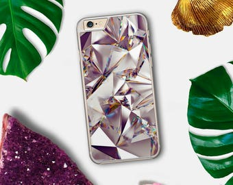 Diamond iPhone Case, Not Holographic, Not Metallic, Tumblr iPhone Case, iPhone 6 Case, iPhone 7 Case, iPhone 5C, iPhone 5 Case, iPhone 6S