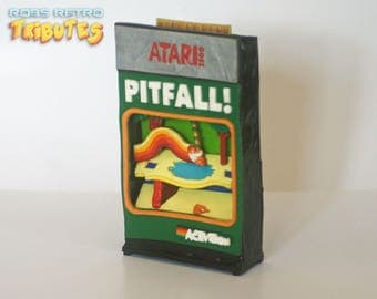 Pitfall Atari 2600 Retro Video Game Tribute Artwork