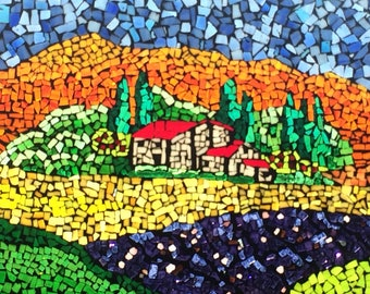 Country Fields Mosaic