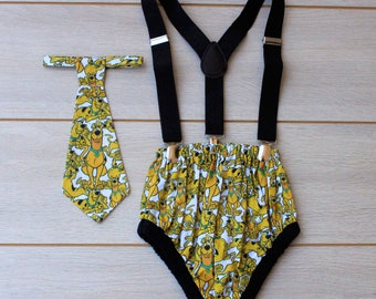 Scooby Doo 3 Piece Cake Smash Outfit