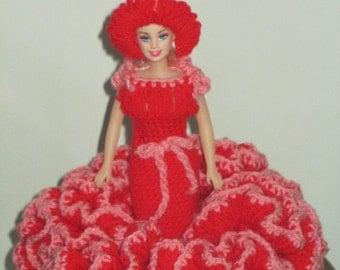 Crochet Dress Doll