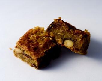 Vegan/Gluten Free Trail Mix Cookie Bar