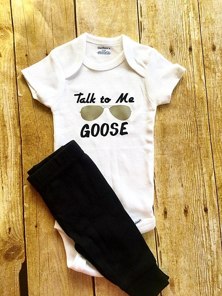 Black gloves lyrics goose - Talk To Me Goose Baby Onesie Top Gun Onesie Baby Onesie Funny Baby Shirt Funny Baby Onesie Sunglasses Onesie