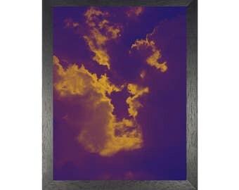 Cloud Art Print, Sky Wall Decor, Instant Download