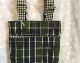 Bag, wheelchair bag, bags and purses, tote, tote bag, walker bag, accessory bag, carry bag, handmade fabric bag, small bag, bag with pockets