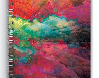 Series_02a, Faeries Bloom, Art Notebook, Notebook, Journal, Sketchbook, Diary, Planner, Art Journal, Wire Binding, Wire Bound