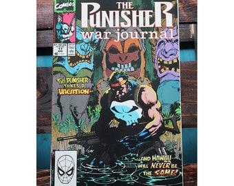 The Punisher War Journal 17 1988 1st Series