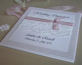 Pocketfold Wedding Invitation Laura - SAMPLE