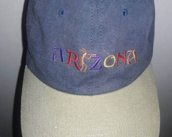 SALE arizona Blue/Tan Snapback