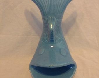 Vintage Caddie Pacific Inc. 1977 blue fish soap/sponge dish