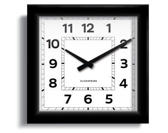 "Dundee ""Anywhere"" Clock"