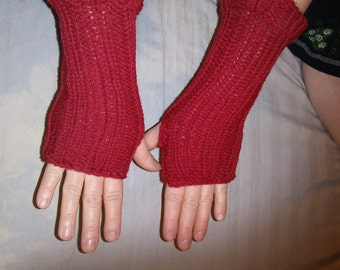 fingerless gloves  hand warmers wrist warmers knit gloves  winter accessories