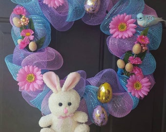CLEARANCE Spring Time Easter Wreath