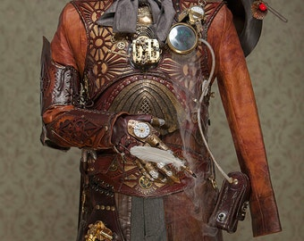 Steampunk Timemage Armor