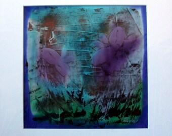 Silk Painting 'Butterflies 2'