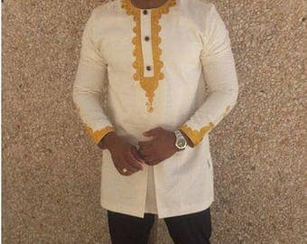 African men clothing,dashiki, dashiki shirt, African shirt, groom's suit, wedding suit, African men suit, prom