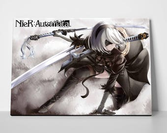 Nier Automata Inspired Game: 2B Cosplay Art