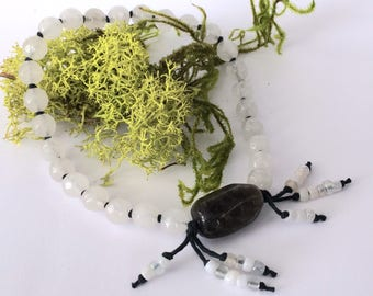 Light and Dark: 27-bead Mala/ Nenju / Juzu / Prayer Beads