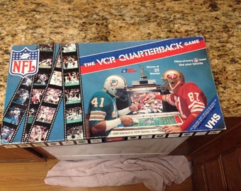 1986 The VCR Quaterback game..NFL Football, Interactive Games inc