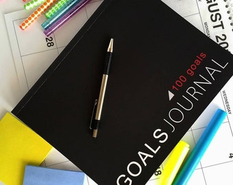 Goals Journal (100 Goals)
