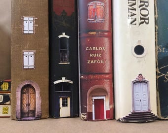 Book Village Decals Doors and Windows and more for your bookshelf