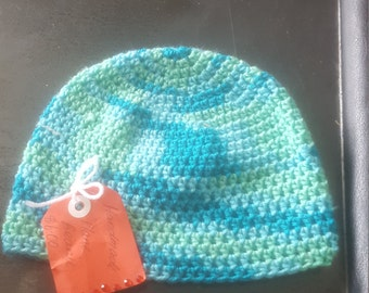 Verigated beanie ( postage depends on your location )