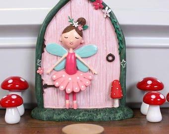 Cute 'Magical' Fairy Door with Fairy!
